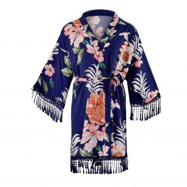 Kimono-One Size-Morgenmantel-Getting ready