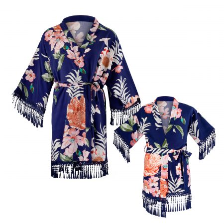 Kimono-Mini Me-Mutter-Tochter-Look