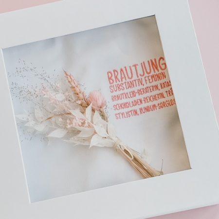 Geschenk Brautjungfer-Brautjungfer-Dankeschön Geschenk