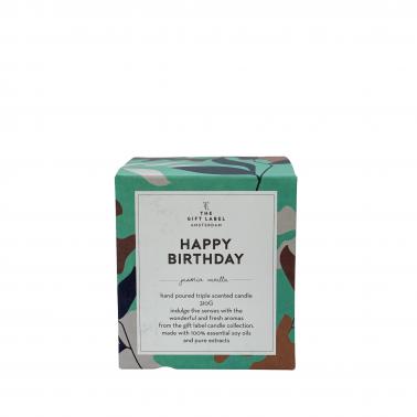 Duftkerze-Happy Birthday-Geschenk