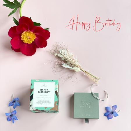 Geburtstag-Geschenk-Geschenkbox