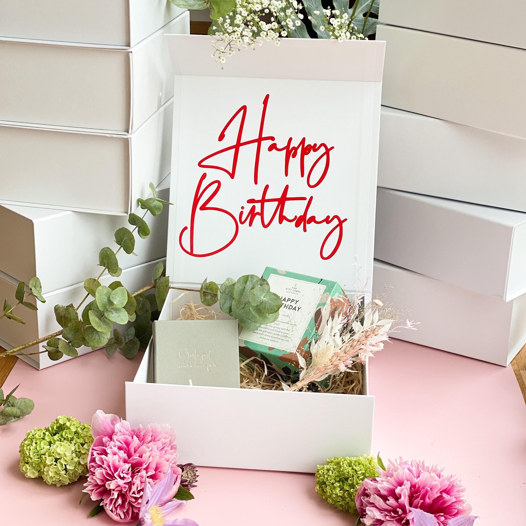 Happy Birthday Geschenkbox für Lieblingsmenschen