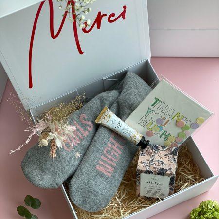 Geschenkbox-Dankeschön Geschenk-Geschenkset