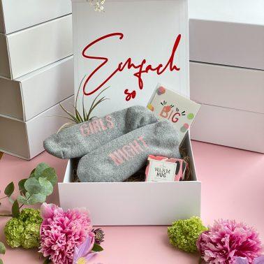 Geschenkbox-Geschenk-Einfach so