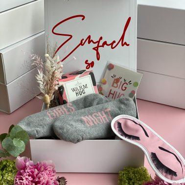 Geschenkbox-Geschenk