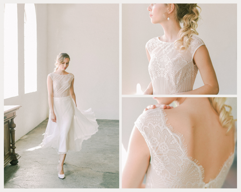 Brautmode-Claudia Heller-Hochzeitskleid