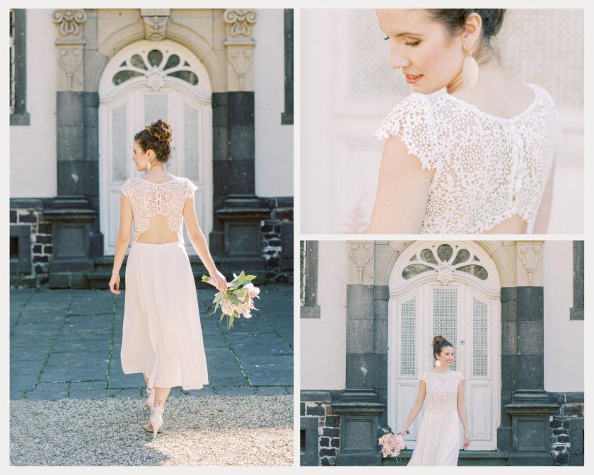 Claudia Heller-Brautmode-Hochzeitskleid