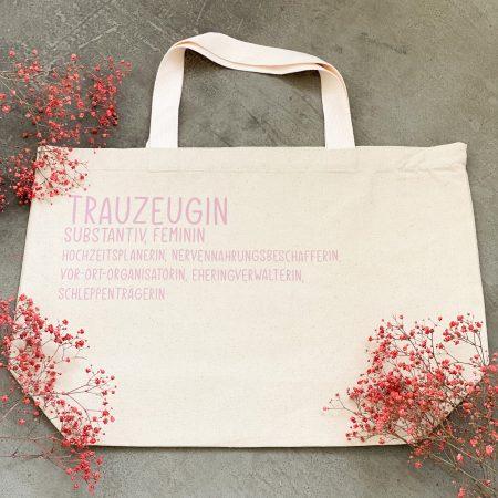 Tasche Trauzeugin-Geschenk-Notfalltasche