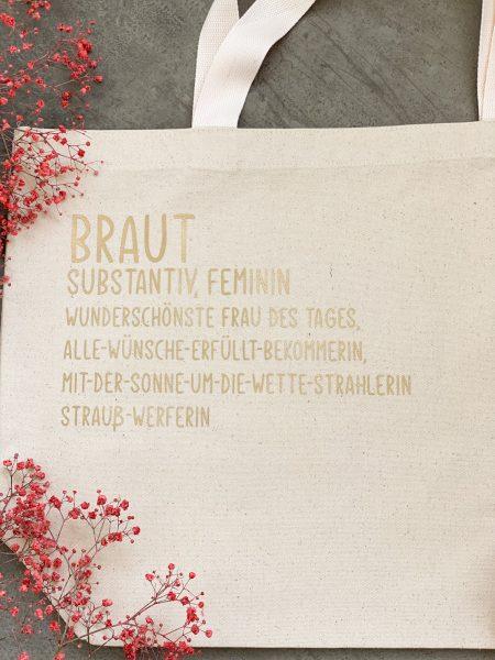 Tasche Braut-Notfalltasche-Hochzeit
