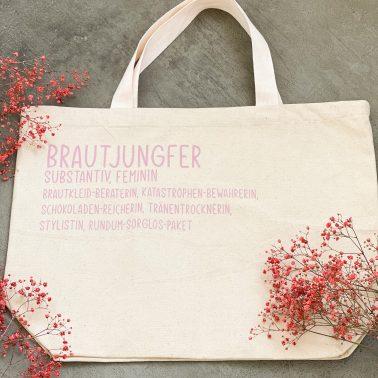 Notfalltasche-Brautjungfer-Geschenk Brautjungfer
